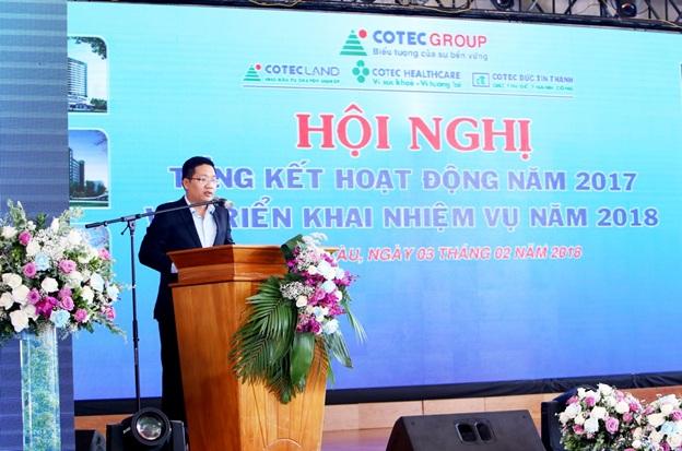 COTEC GROUP – Hội nghị Tổng kết 2017 & Dạ tiệc Khai xuân